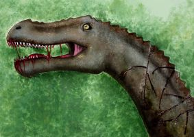 Allosaurus by Finnish-Penguin