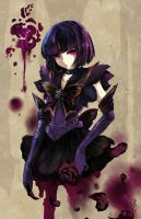 Dark Sailor Saturn by Ruri-dere
