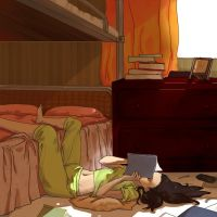 My friends room by Curayukie