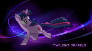 Twilight Sparkle Wallpaper by CKittyKat98