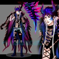 HALFDEMON LONGHAIBI ADOPT 22 [ Auction ] [ CLOSE ] by gattoshou