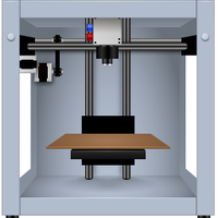 Makerbot by aha-soft-icons