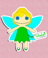Tinkerbell Rag Doll by AnaMoon