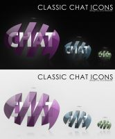classic chat icon by bisiobisio