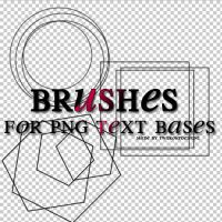 brushes for png text bases_TW by twgroupdesigns