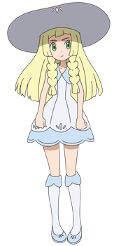 Lillie Anime Artwork by Tzblacktd