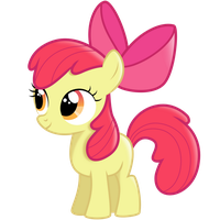 AppleBloom vector by ConcorDisparate