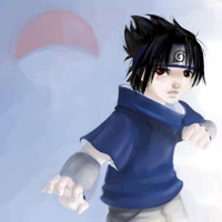 Sasuke by HeavenCharge