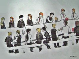 Griffindor table 2 by talita-rj
