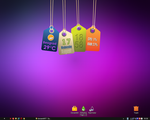 Hanging Tags Rainmeter by partibrejkers