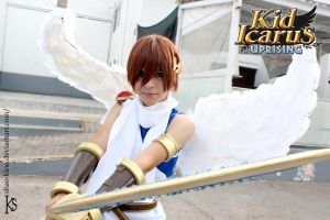 Pit - Kid Icarus Uprising Cosplay by NeroxAkita