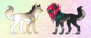 [CLOSED] Canine adoptables by kat-adopts