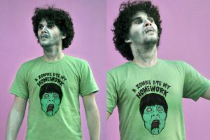 Bad Zombie T shirt by ChamaCamisetas