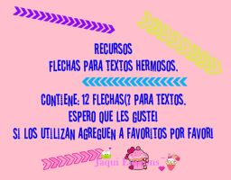 Pack PNG de Brushes [Flechas Para Textos] by Jaaquii