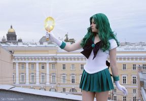 Sailor Neptune. Michiru Kaio by Vaishravana