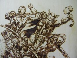The Avengers TOP DETAIL by JayRandall