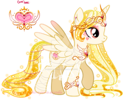Heart Princess Adoptable CLOSED by YukiAdoptablesPonies