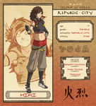 Republic City: Miki by dCTb