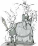 Fionna vs Ice Queen by Onihime-chan