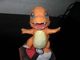 Charmander papercraft by MichelCFK