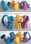 My little Pony Customs G4 Sirens merponies by BerryMouse