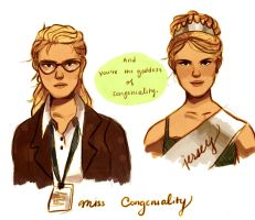 Miss Congeniality by CrazedPochamaXD