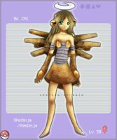 Gijinka Project - Shedinja by JennyWheat