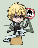 .: DRRR - Shizuo :. by adobongsiopao