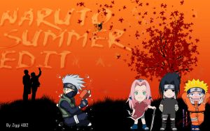 Naruto Summer Edit by Ziggi by Ziggi4812