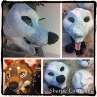 Toon canine resin base kit! by Sharpe19