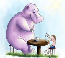 Tea with Horatio by vixentheangryfox