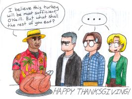 Thanksgiving 2009 - SG-1 style by walnutsage