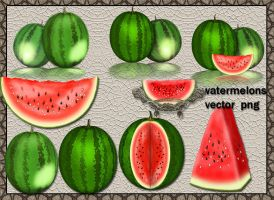 Watermelons by roula33