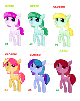 Simple adopts 5 points (#2 and #6 open) by Keep-Yourself-Alive