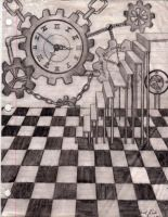 Clockwork Chess by KaotiskeVona