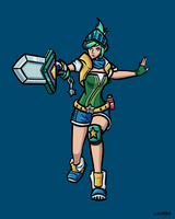Arcade Riven by Luctekz