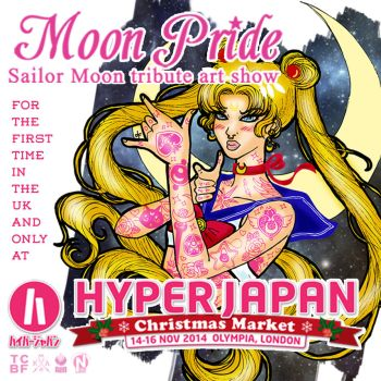 Moon Pride at Hyper Japan by BelialMadHatter