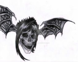The Rev Death Bat by MusicMayhem399