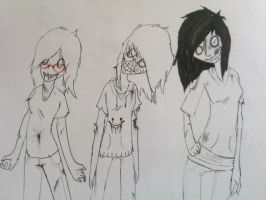 me and my dead deviant friends by SlendyFox321