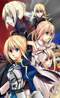 Unlimited Saber Works by FutatsunoKaanjitsu