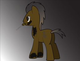 Jerry Rig OC pony by NightTactician
