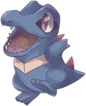 Waninoko | Totodile Commission by AutobotTesla