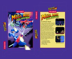 MegaMan Unlimited Decent-looking BoxArt Template by MegaPhilX