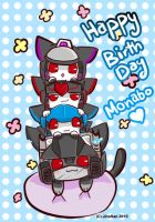 Happy BDay Monabo by JinoSan
