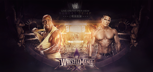 Cena vs Hogan Wrestlemania 30 by ahmed-aldhfeeri