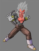 Vegeta super saiyan 5 by RobertoVile