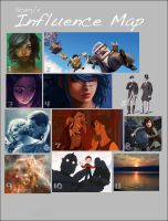 Influence Map by Scarry
