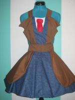 Tenth Doctor - David Tennant - Cosplay Pinafore by DarlingArmy