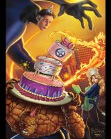 Fantastic Four 50th by Cynday
