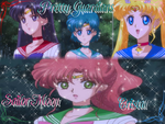 Pretty Guardians Sailor Moon Crystal Wall by NatouMJSonic